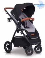 EasyGo Optimo Air Grey Fox Pastaigu rati